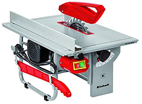 Einhell UK TC-TS 820 800 W Table Saw with Carbide Tipped Blade, 200 x 16 x 2.4 mm - Red