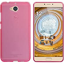 FUNDA de GEL TPU para WEIMEI WE PLUS 2 COLOR ROSA