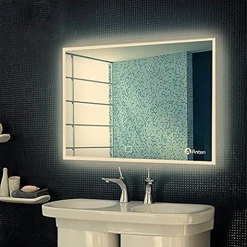 Anten Bad Spiegel für Schminktisch und Spiegelschrank Badspiegel mit LED