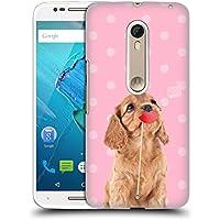 Ufficiale Studio Pets Rubino Pattern Cover Retro Rigida per Motorola