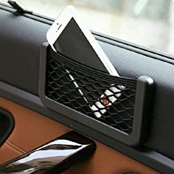 Universal Car Seat Side Back Net Storage Bag Phone Holder Pocket Organizer (Big) For Volkswagen Vento