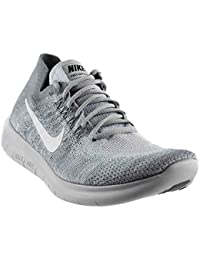 Nike Mens Free RN Flyknit 2017 Running Shoes (10 Wolf Grey/White-M)