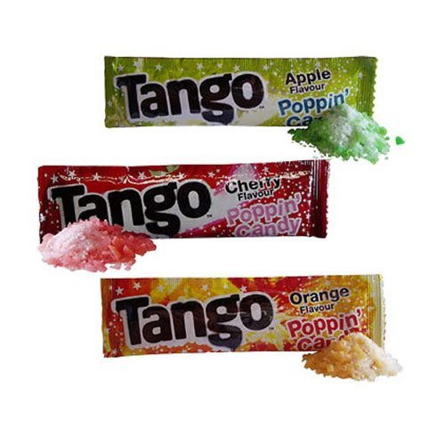 30 Packs Tango Popping Candy Apple Cherry Orange Flavour for sale  Delivered anywhere in Ireland