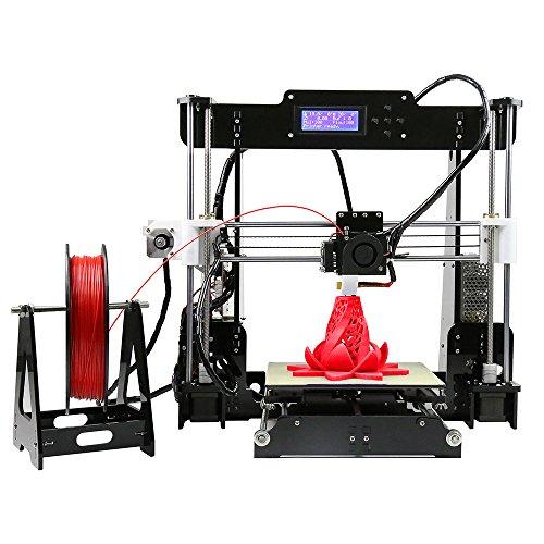 MagicD Faible coût Haute performance , Anet A8 Kit de bricolage pour imprimante 3D, Imprimante 3D Classic A8 , Imprimante 3D de bureau, Facile à assembler