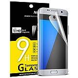 Film Protection écran Samsung Galaxy S7 Edge, NEWC Film Protection en PET [Couverture complète] écran Protecteur vitre ANTI RAYURES SANS BULLES D'AIR Screen Protector pour Samsung Galaxy S7 Edge