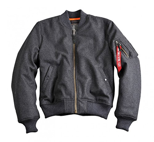 alpha industries MA-1 Wool Dark Grey