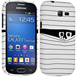 Seluxion - Housse Etui Coque Semi Rigide pour Samsung Galaxy Trend Lite ( s7390) avec motif SC04 + Film de Protection