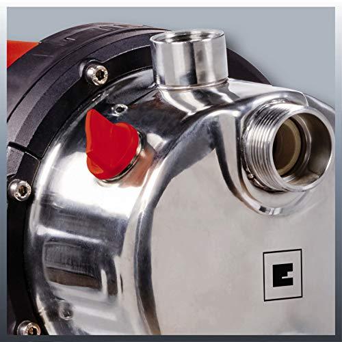 Einhell Hauswasserwerk GC-WW 1250 NN (1200 W, 5000 L/h Max. Fördermenge, Max. Förderdruck 5 bar, Druckschalter, Manometer, 20 L Behälter) - 5