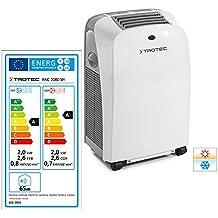 TROTEC 1210002009 PAC 2000 SH Climatizzatore Portatile a 7000 Btu, Condizionatore D'Aria Locale Monoblocco da 2,0 Kw, EEK A, Dispositivo compatto 4 in 1 - climatizzatore, deumidificatore, ventilatore e riscaldatore tutto in uno!