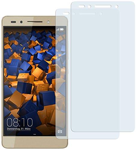 mumbi Schutzfolie kompatibel mit Huawei Honor 7 / 7 Premium Folie klar, Displayschutzfolie (2x)