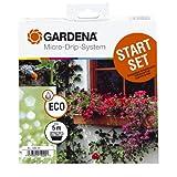 Gardena 1402-20 Micro-Drip-System Start-Set für Blumenkästen