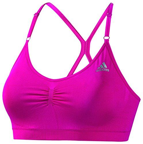 Adidas soutien-gorge de sport pour femme sans couture Rose - Pink Buzz S10