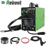 REBOOT MIG-150 Schweißgeräte Dual Voltage Welder Gas IGBT MIG Inverter Schweißgerät MAG IGBT Inverter Schweißgerät