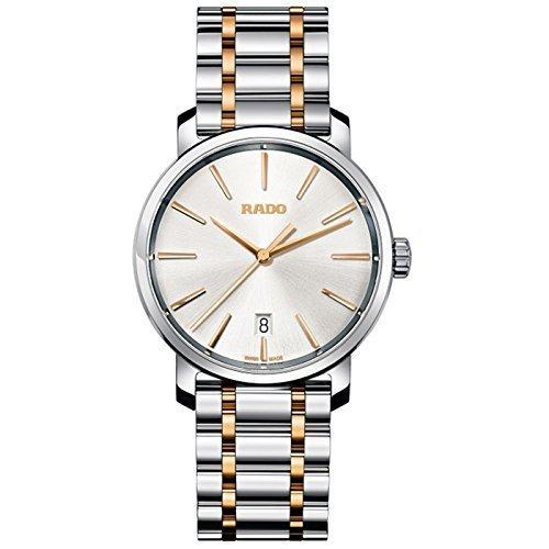 Rado DIAMASTER R1407810340mm de acero Multicolor pulsera y funda sintética Sapphire reloj para hombres por Rado
