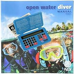 Padi Manuel Open Water Diver avec Table de plongée électronique e-RDP - VF
