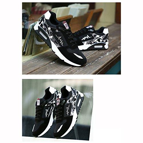 XIAOLIN Scarpe Piatte Versione Coreana Tendenza Scarpe Casual Scarpe Da Corsa Scarpe Con Cuscino Daria ( Colore : 01 , dimensioni : EU/41/UK7.5-8/CN42 ) 02
