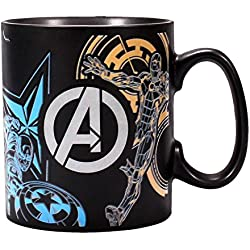 Half Moon Bay Taza Cambio DE Color Marvel Avengers, 400ml