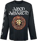 Photo de Amon Amarth The Pursuit of Vikings T-Shirt Manches Longues Noir par Amon Amarth