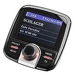 Digitalradio-Adapter für Auto  DAB+  KFZ  Autoradio  Sendersuchlauffunktion  Bluetooth  AUX-In  Farbdisplay  Antenne  FM-Transmitter  Senderspeicher  Nachrüstlösung  Wireless Music Streaming  MP3  Schwarz  Dual DAB-CA 10