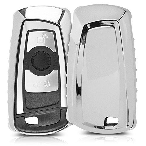 kwmobile Funda para Llave con Control Remoto de 3 Botones para Coche BMW...