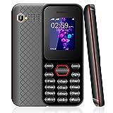 Telefono cellulare per anziani, cellulari offerte Dual SIM, FM, Fotocamera, bluetooth, music, Nero, telefoni cellulari in offerta v mobile C02 [Italia]