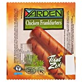 Yarden Chicken Frankfurters 400g