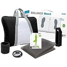 WII FIT- Balance Board weiss + Wii Fit Spiel + Training Pack (farbig sortiert)