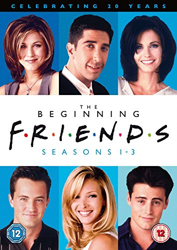 Friends: The Beginning (Seasons 1-3) [STANDARD EDITION] [Import anglais], DVD/BluRay