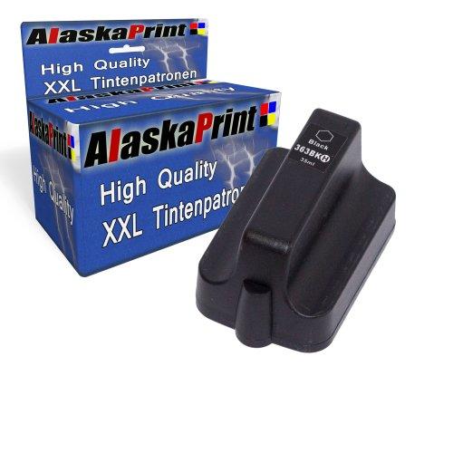 Premium Kompatible Tintenpatrone Als Ersatz für Hp 363 XL Schwarz Black BK Druckerpatrone (Hp 6180 Drucker)