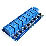 #9: 5V 10A 8 CH Channel OPTO COUPLER Relay Board Module for Arduino Raspberry Pi