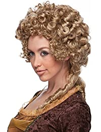 Characters Marie Antoinette Synthetic Wig Honey Blonde
