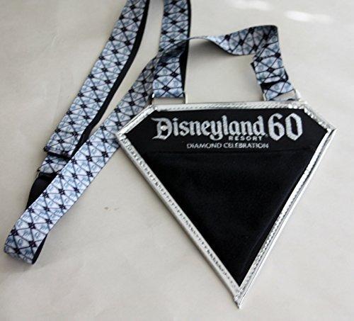 Disneyland 60 Diamond Celebration Pin Lanyard & Pouch by Disney (Disneyland Lanyard)