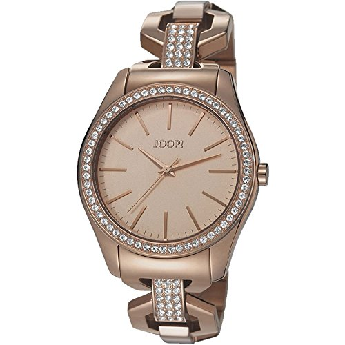Joop! Damen-Armbanduhr KELLY Analog Quarz Edelstahl JP101532003