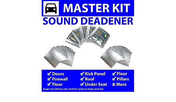 Zirgo 316962 Heat /& Sound Deadener for 35-36 Chrysler ~ Master Stg3 Kit