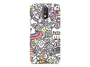 Hamee Designer Printed Hard Back Case Cover for Motorola Moto G4 Design 5137