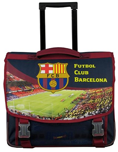 FC Barcelona 173fcb203rol Schulranzen Roulette Unisex Kinder, Granat, 41cm