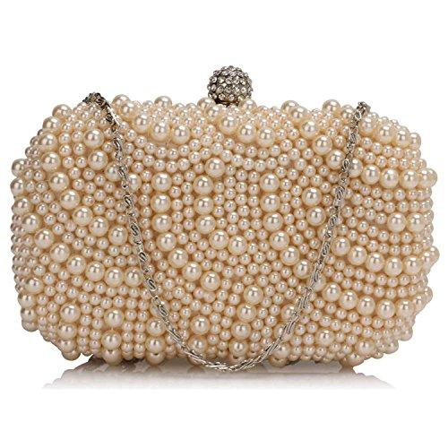 L And S Handbags, Poschette giorno donna Nude