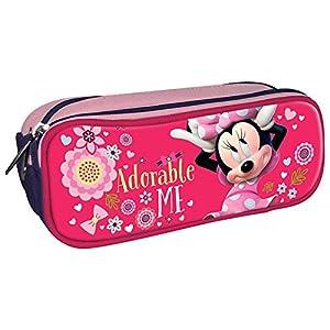 Portatodo Minnie Disney Adorable Me 3 Cremalleras