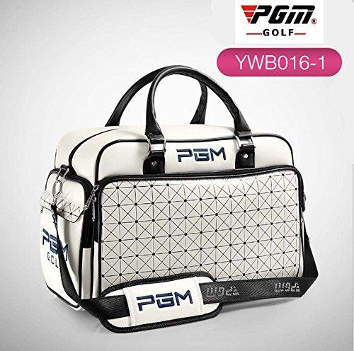 PGM Damen Golftasche mit Rollen und Handtasche aus PU-Leder, Hand Bag