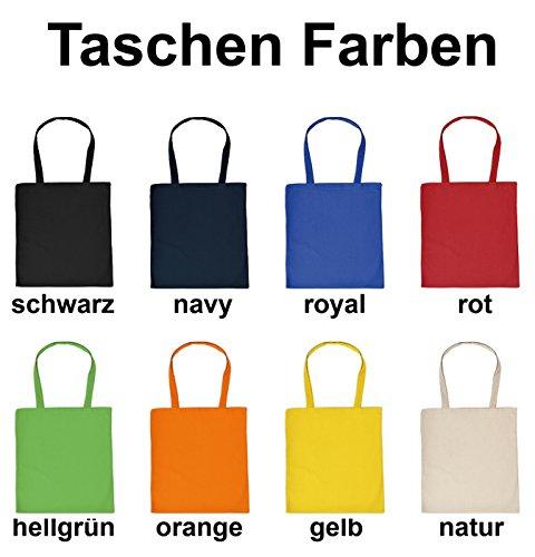 FUN Stofftasche Einkaufstasche Jutebeutel Shoppingbag mit Ihrem Wunschtext selber gestalten – lassen Sie Ihrer Fantasie freien Lauf!