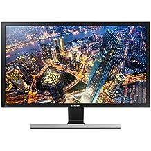 """Samsung U28E590D - Monitor de 28"""" (3840 x 2160 Pixeles, LED, 4K Ultra HD, TN, 3840 x 2160, 1000:1), color negro y gris"""