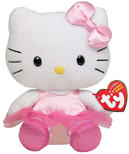 Hello Kitty - Ballerina Plush - TY Beanie - 15cm 6""