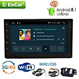 Nuovi autoradio con navigazione di GPS Android 8.1 Oreo 2GB DDR3 RAM 16GB ROM 7 pollici Doppio Din Stereo Bluetooth Handsfree Autoradio Car System 1080P Video Player per USB / SD in precipitare W