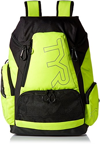 Tyr Alliance 45L Backpack Black/Lime