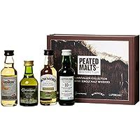 Peated Malts Of Distinction - Coffret De 4 Irish Whiskey Et Ecossais (4 X 0.2L)