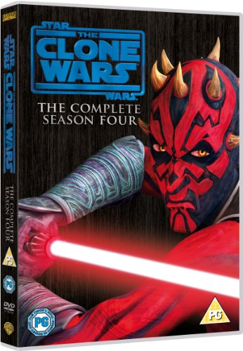 Image of Star Wars: The Clone Wars - The Complete Season Four [DVD] [2012]