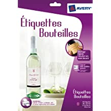 Avery C9269-10 - Etiquetas para botellas (40 unidades, 120 x 90 mm