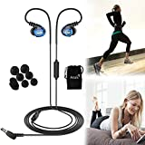 Best Fitness Earphones - Fitness Earbuds, E260 Noise Isolating Stereo Bass Jogging Review