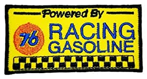 Ecusson brode patch Union 76 Racing Gasoline Gas Station Signs Embroidered Iron or Sew on Patch by wonderfullmoon