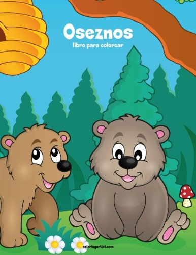 Oseznos libro para colorear 1: Volume 1 por Nick Snels